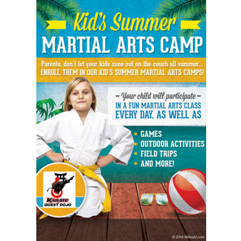 SUMMER MARTIAL ARTS CAMP